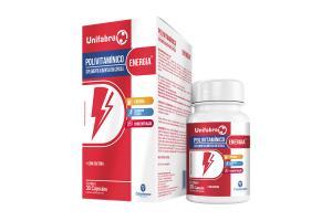 Unifabra Polivitamínico Energia Com 30 Cápsulas