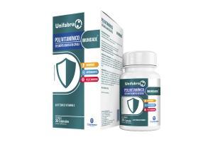 Unifabra Polivitamínico Imunidade Com 30 Cápsulas