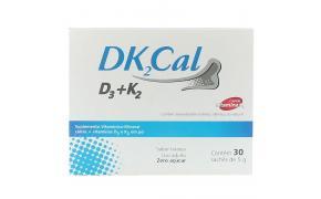 DK² Cal Vitamina K² Com 30 Sachês de 5g