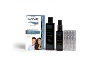 Kit Imecap Hair Queda Intensa 1 Shampoo 300 ml + 1 Loção 100 ml + 30 Cápsulas Bônus