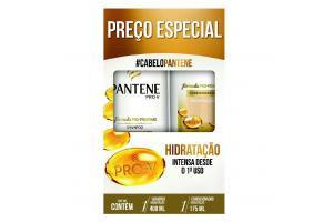 Kit Pantene Hidratação Shampoo  175 ml + Condicionador 175 ml