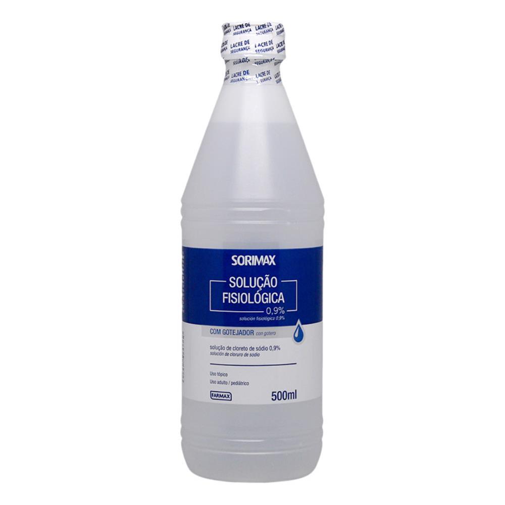 Solução Fisiológica Sorimax 0,9% Com 500 ml