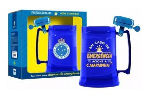 Caneca Gel Com Campanhia - Cruzeiro 450ml