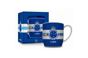 Caneca Porcelana Urban Brasfoot - Cruzeiro 360 ml Ref 1628