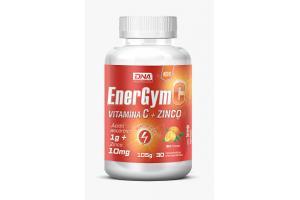 EnergGym C Vitamina C + Zinco Com 30 Comprimidos Efervescentes