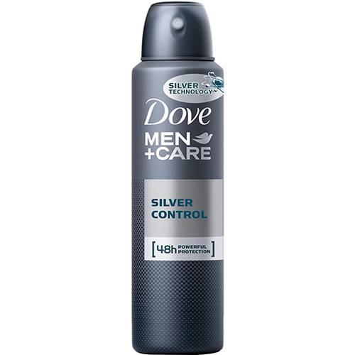 Desodorante Aerosol Dove Men Care Silver Control 150ml