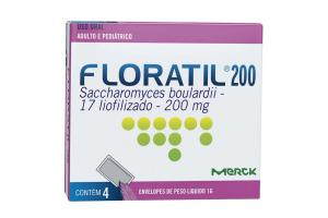 Floratil 200 mg Com 4 Envelopes de 1 g