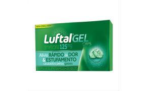 Luftal 125 mg Com 10 Cápsulas Gel