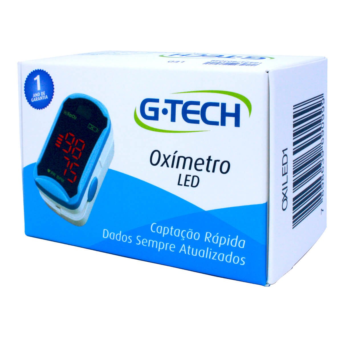 Oxímetro LED  G-Tech