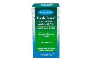 Lubrificante Ocular Fresh Tears 0,5% Com 15 ml