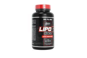 Lipo6 Black Ultra Concentrado Com 60 Cápsulas Nutrex Research