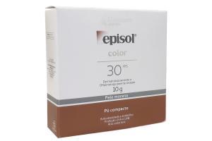 Pó Compacto Episol Color Pele Morena FPS 30 10g