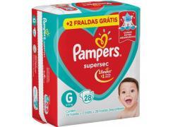 Fralda Pampers Supersec Tamanho G Com 28 Unidades