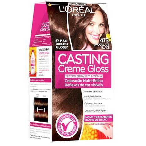 Tonalizante Casting Creme Gloss 415 Chocolate Glacê