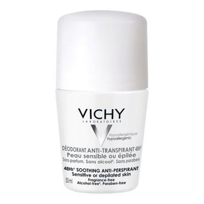 Desodorante Roll-on Vichy Pele Sensível 50ml