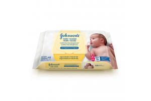 Toalhinhas Umedecidas Johnson's Recém-nascido Com 48 Unidades