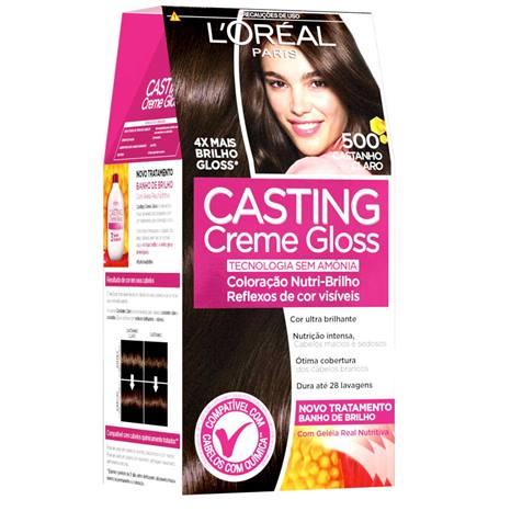 Tonalizante Casting Creme Gloss 500 Castanho Claro