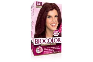 Tintura Biocolor 5.59 Acaju Púrpura Deslumbrante