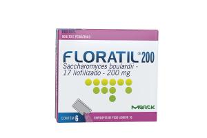 Floratil 200 mg Com 6 Envelopes de 1 g