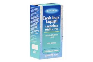Lubrificante Ocular Fresh Tears Liquigel 1% Com 15 ml
