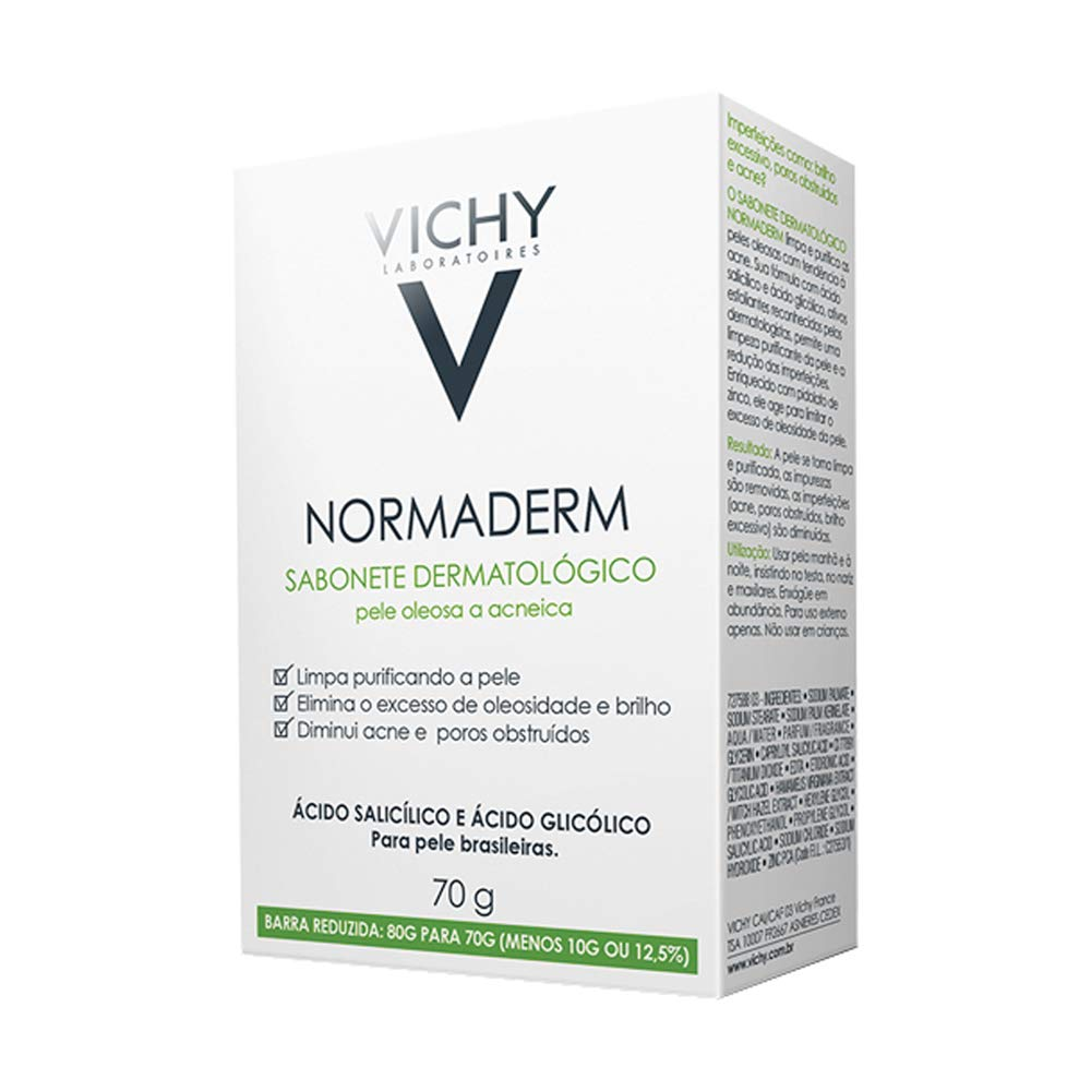Sabonete Dermatológico Vichy Normaderm 70g