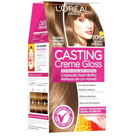 Tonalizante Casting Creme Gloss 700 Louro Natural