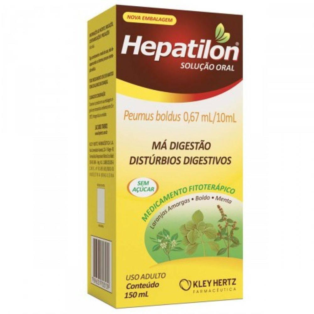 Hepatilon Solução Oral 150mL