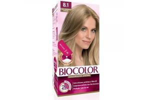 Tintura Biocolor Mini Kit  8.1 Louro Acinzentado Estiloso