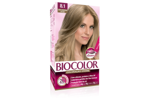 Tintura Biocolor 8.1 Louro Acinzentado Estiloso