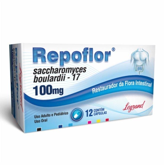 Repoflor 200mg Com 6 Cápsulas