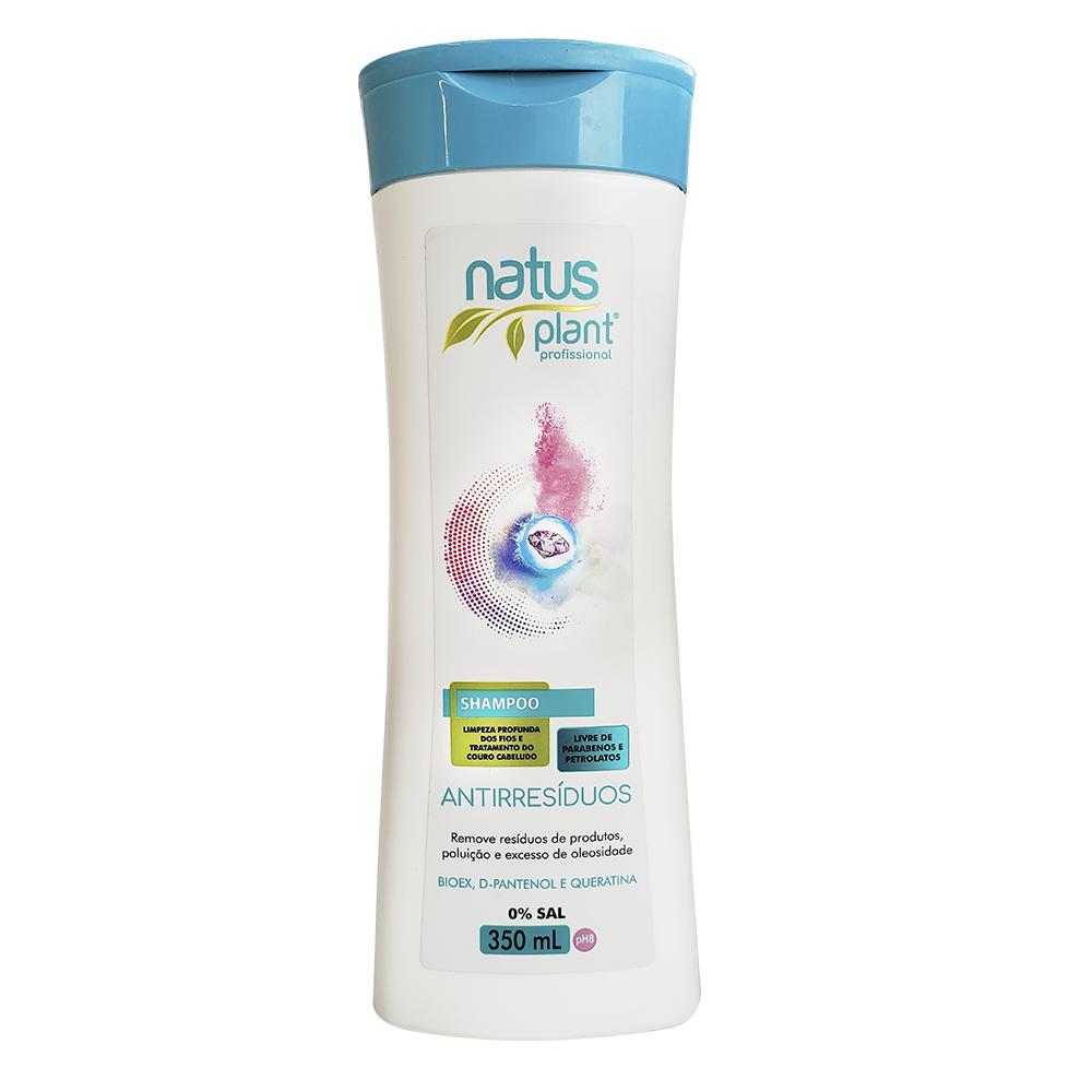 Shampoo Antirresíduos 350ml Natus Plant