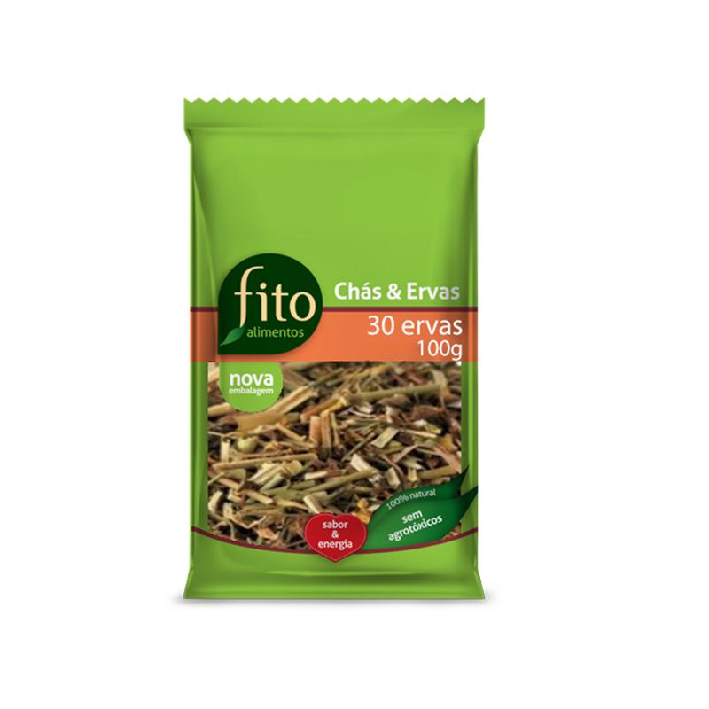 Chá 30 Ervas 100g Fito Alimentos