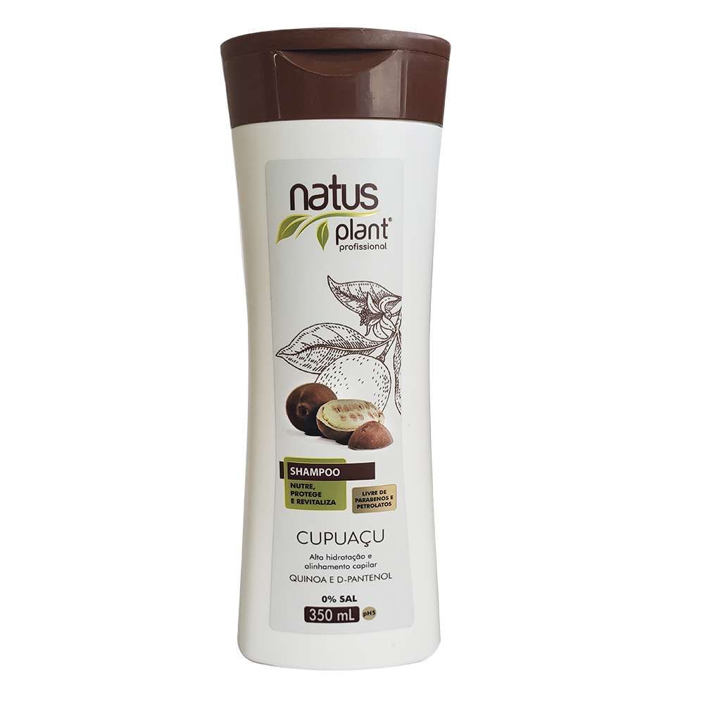 Shampoo Cupuaçu 350ml Natus Plant