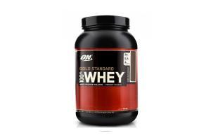 100% Whey Gold Standard Sabor Morango 909g Optimum Nutrition