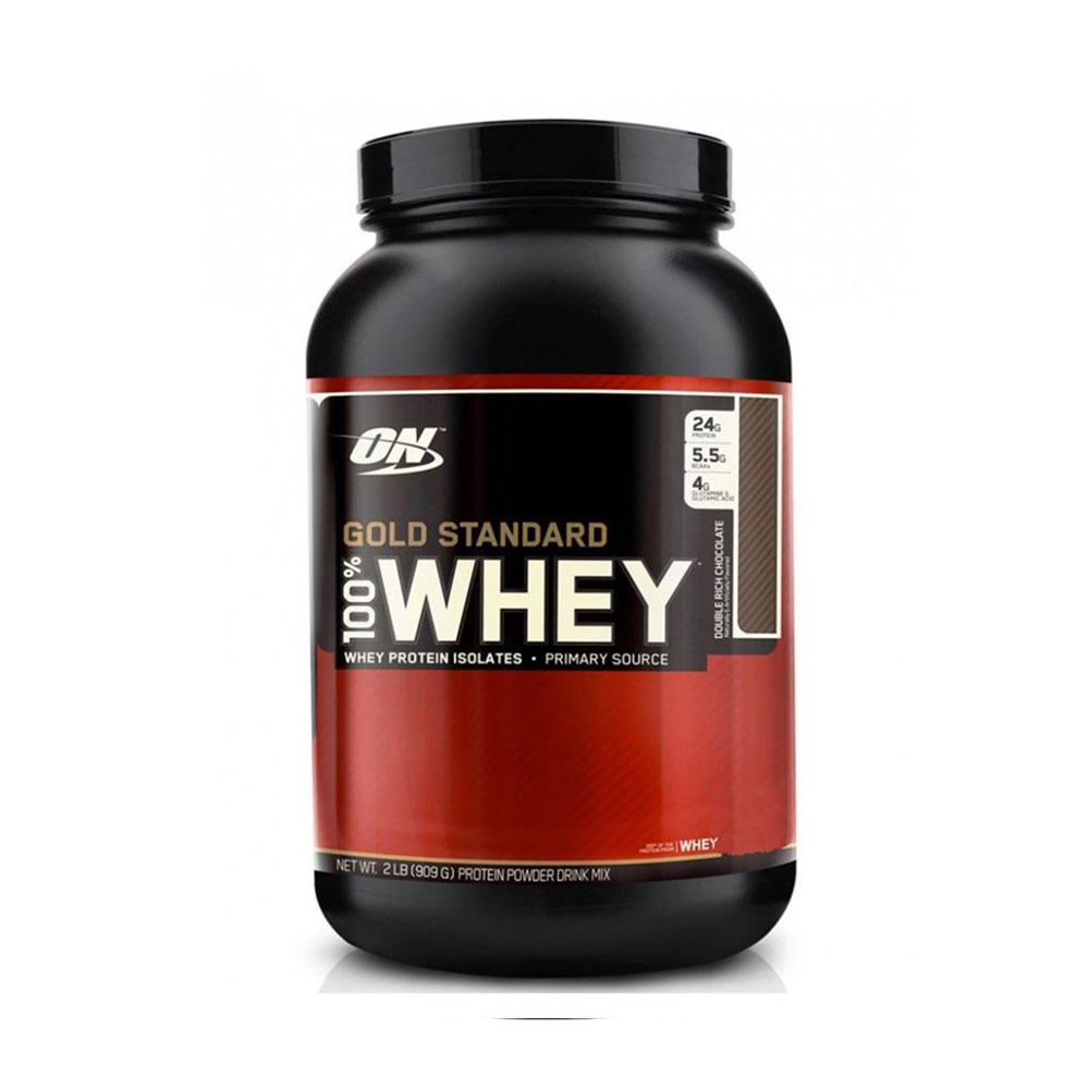100% Whey Gold Standard Sabor Sorvete de Baunilha 909g Optimum Nutrition