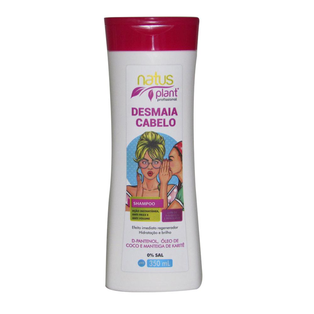 Shampoo Desmaia Cabelo 350ml Natus Plant