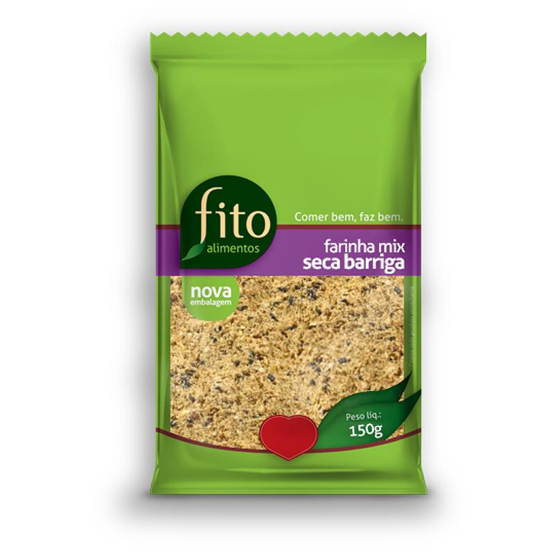 Mix de Farinha Seca Barriga 150g Fito Alimentos