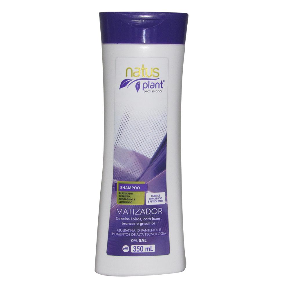 Shampoo Matizador 350ml Natus Plant