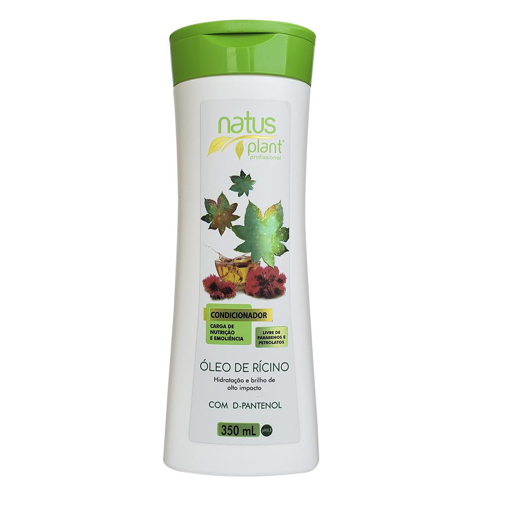 Condicionador Óleo de Rícino 350ml Natus Plant