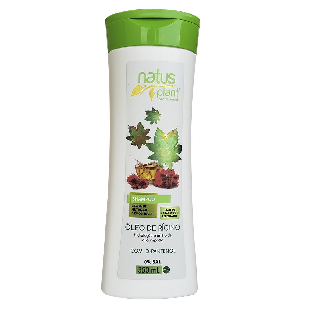 Shampoo Óleo de Rícino 350ml Natus Plant