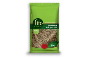 Proteína de Soja Granulada 300g Fito Alimentos