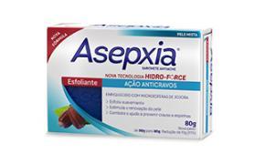 Asepxia Sabonete Esfoliante 80g