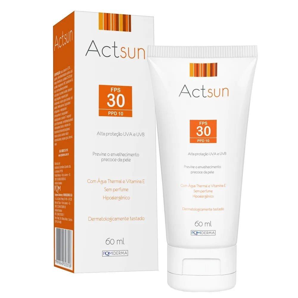 Protetor Solar Facial Actsun FPS 30 60ml