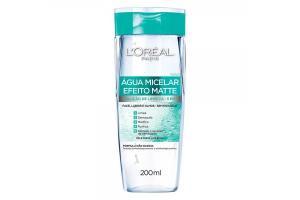 Água Micelar L'Oréal Paris Efeito Matte 5 em 1 200ml