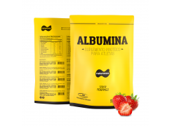 Albumina Morango 500 gramas
