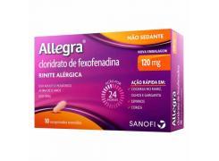 Allegra Com 10 Comprimidos 120 mg