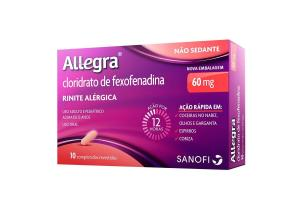Allegra Com 10 Comprimidos 60 mg