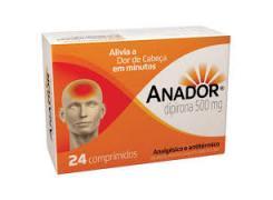 Anador Com 24 Comprimidos