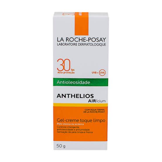 Protetor Solar Facial  Anthelios Airlicium Antioleosidade FPS 30 50g
