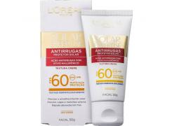 Protetor Solar Facial Antirrugas L'oreal FPS 60 50 gramas